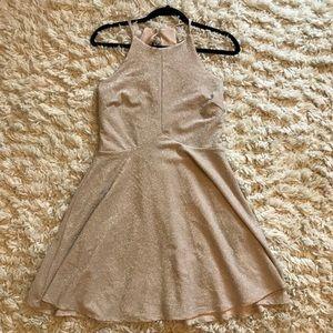 Nude Sparkly Dress
